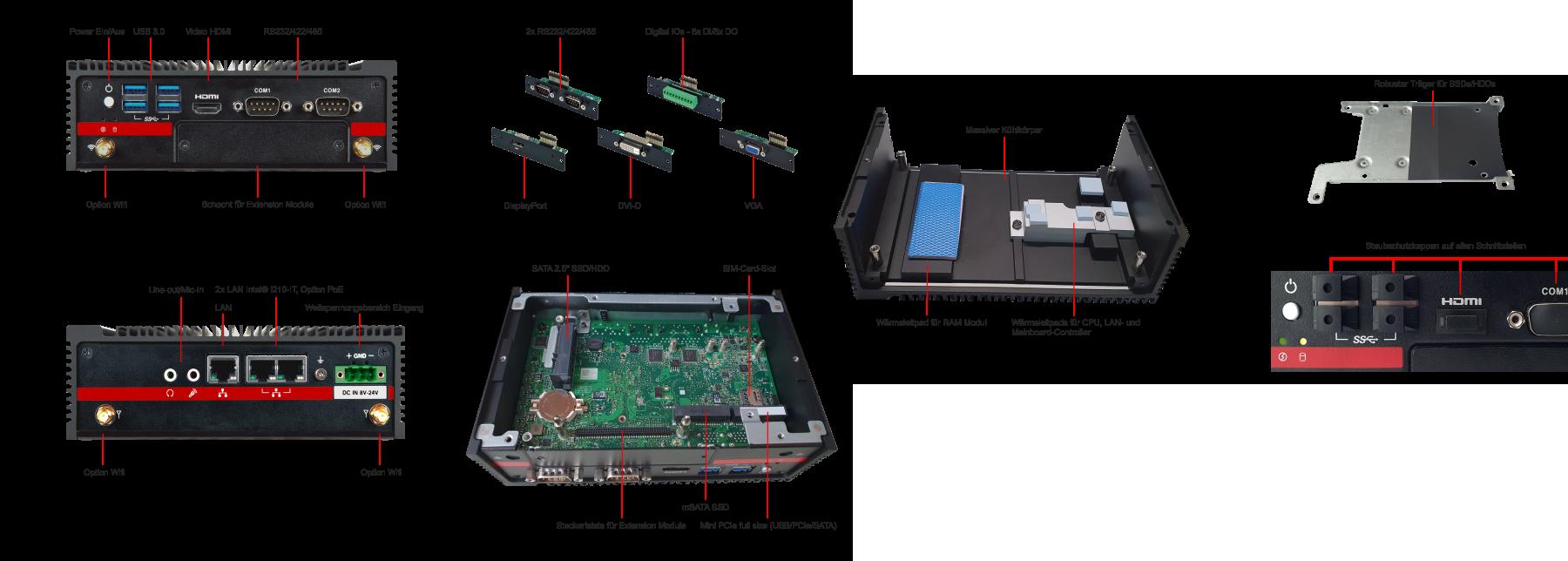 ipc-core Industrie-PC Extension C-S4_Aktion
