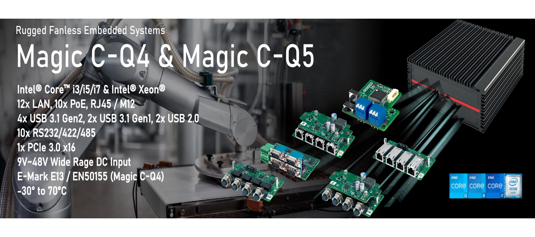 Box-PC Magic C-Q4 und Magic C-Q5_1800