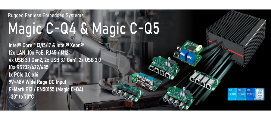 Box-PC Magic C-Q4 und Magic C-Q5_900