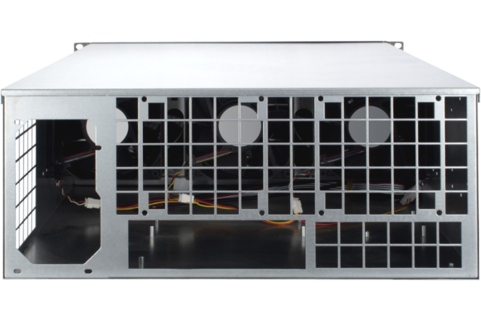 19″ Rack-PC 4HE M1-64 back