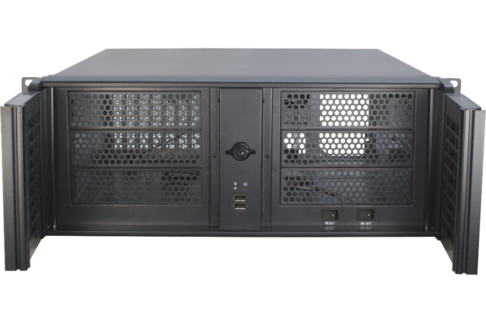 19″ Rack-PC 4HE T4-47 front
