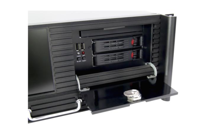 19″ Rack-PC 4HE Z1-52 Wechselrahmen