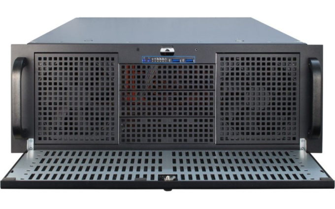 """19"""" 4HE Server T1-65_front2"""