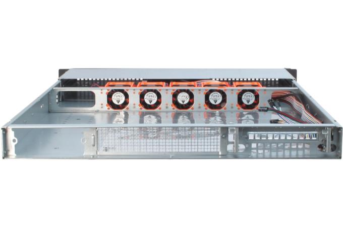 "19"" Rack-PC 1HE T1-65 back"