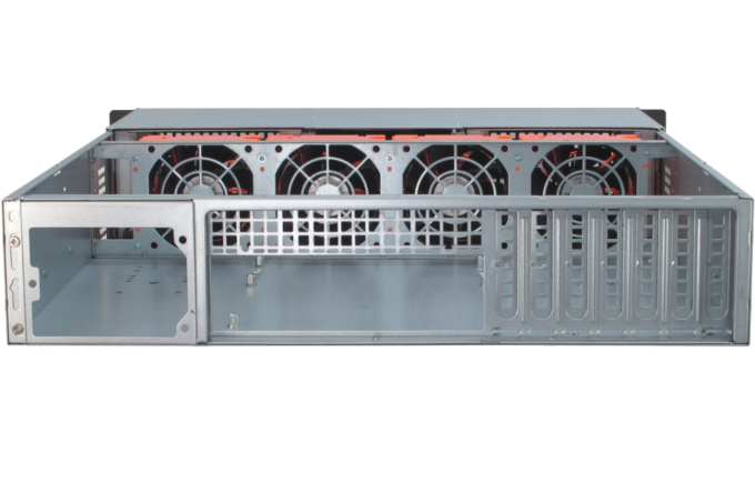 "19"" Rack-PC 2HE T2-55 back"